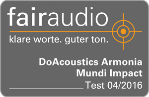 Fairaudio Armonia Mundi Impact Test